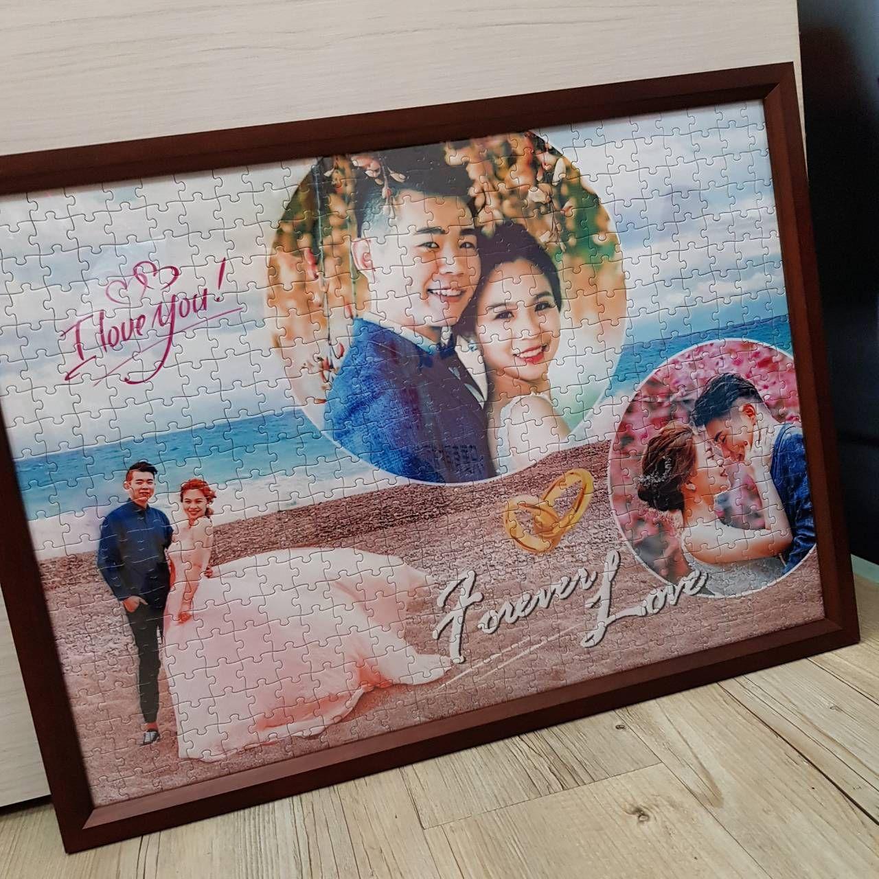 轉印拼圖[500]片結婚禮物